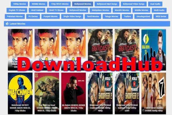 DownloadHub 2020 – Download All Latest 300MB Hind Movies