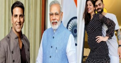 PM Narendra Modi thanks to bollywood celebraties for warm wishes