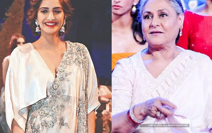 Sonam kapoor supports Jaya bachchan and said