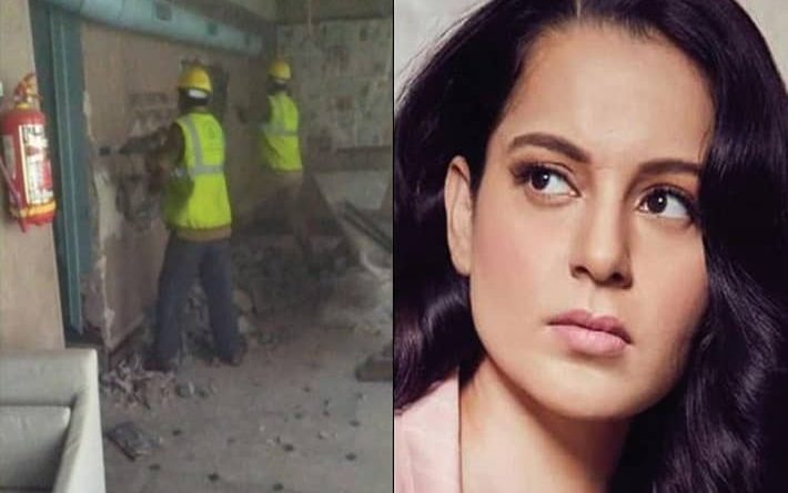 kangana ranaut will not renovate demolished office by BMC