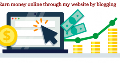 online earning through blogging, how to earn online, make money online