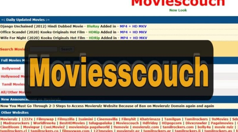 Moviescouch 2020: Ultimate Website For Movies