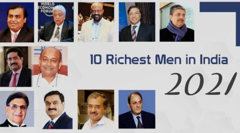 Top 10 Richest Person in India in hindi